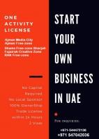 Trade license registration in UAE 0547042036