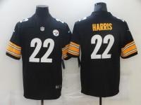 Men's Pittsburgh Steelers #22 Najee Harris Nike Black Player Game Football Jersey