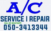 Split Ac Central Air Conditioner Service Repair Gas Filling in Dubai