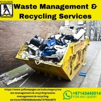 Waste Management Services in Dubai   Waste Management Company in Dubai
