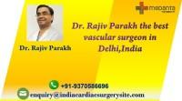 Best Vascular Surgeon in India Dr. Rajiv Parakh