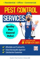 Pest Control Services in Dubai|Quality Pest Control