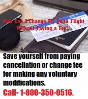 How to avoid Delta Flight Change Fee +1 (888) 441-72-59