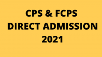 Getting Direct FCPS and CPS Admission 2021?
