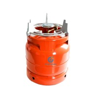 2021 Hot Sale Portable Gas Cylinder Mini 3kg LPG Steel Tank with High Quality for Cooking ODM/OEM37