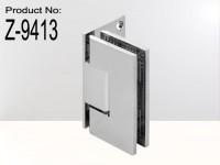 Adjustable Standard Duty Square Corner Offset Back Plate Shower Hinge6