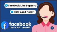How can I chat with Facebook Support?