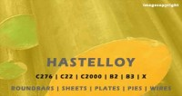 Hastelloy Manufacturers stockiest and suppliers india.