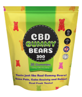 Green ***** Gummy Bears UK And Gummies   Boost Power! Fix Relief Pain