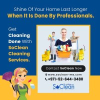 Cleaning Services Company in Dubai | Soclean