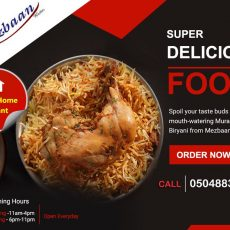 Food delivery service in Abu Dhabi